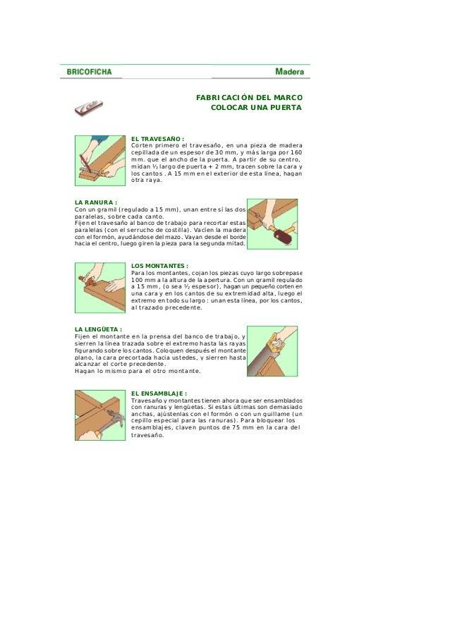 Como colocar puertas interiores y exteriores