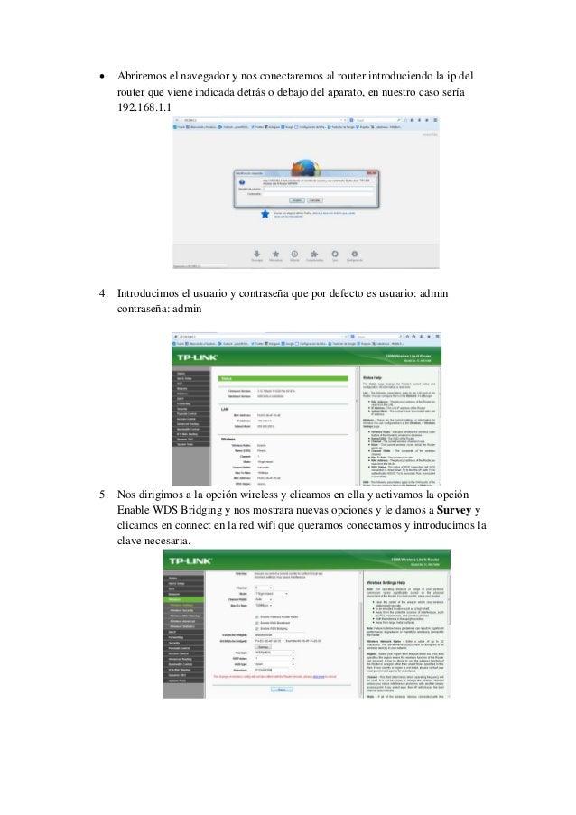 Como configurar router para usarlo como repetidor wifi Slide 2