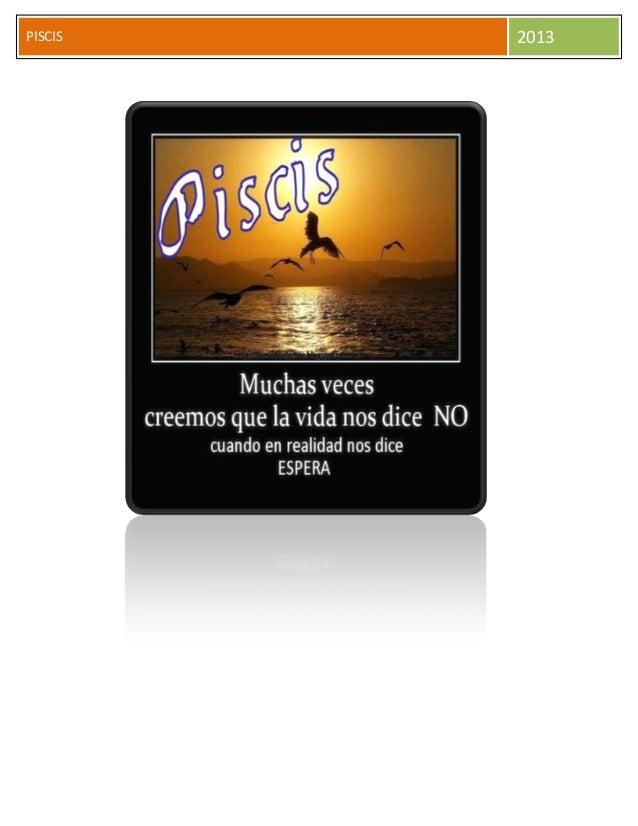 PISCIS 2013