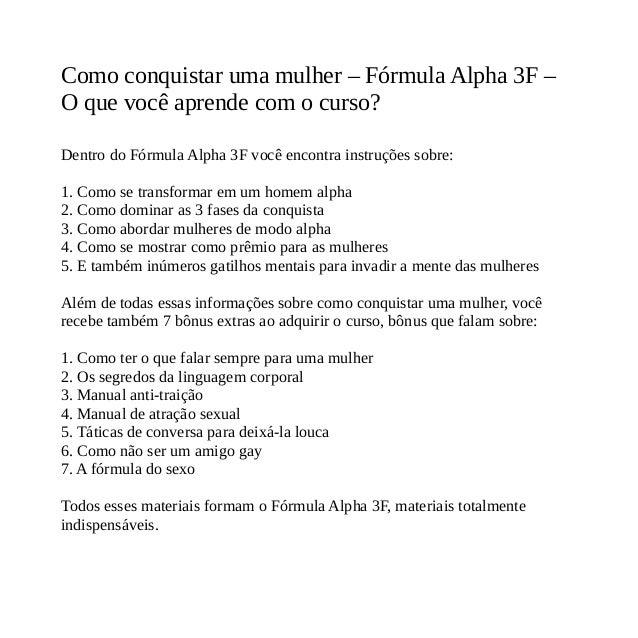 Livro Formula Alpha 3f Pdf