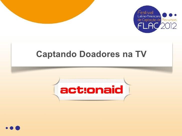 Captando Doadores na TV