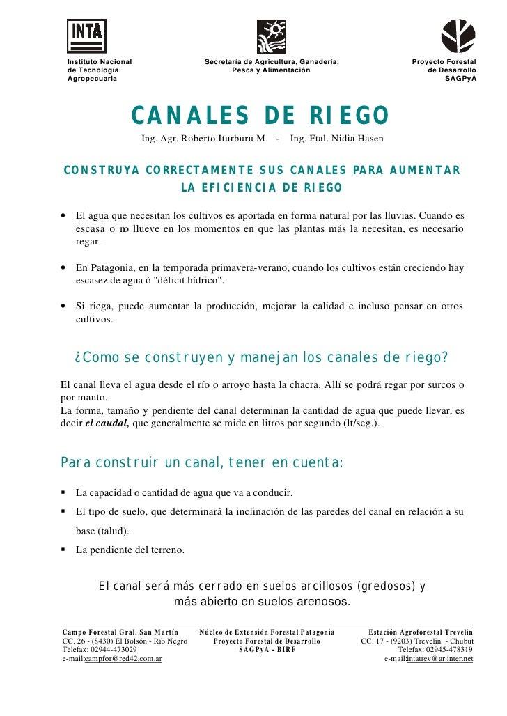 Instituto Nacional                      Secretaría de Agricultura, Ganadería,                  Proyecto Forestal de Tecnol...