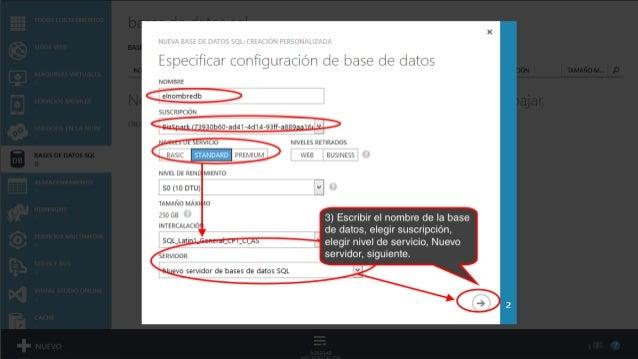 Como crear una base de datos