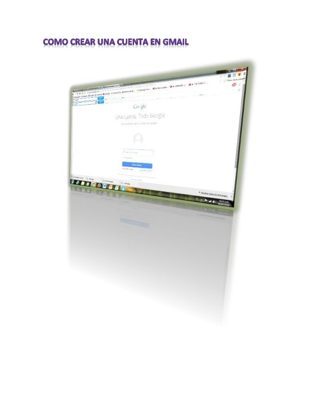 Crear correo electrónico  Abrir cuenta gratis Gmail