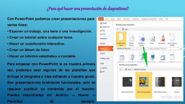 Como Crear Una Presentación De Diapositivas En Power Point