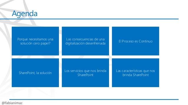 Como crear una solución ecm (cero papel) en share point 2013 sps13 Slide 2
