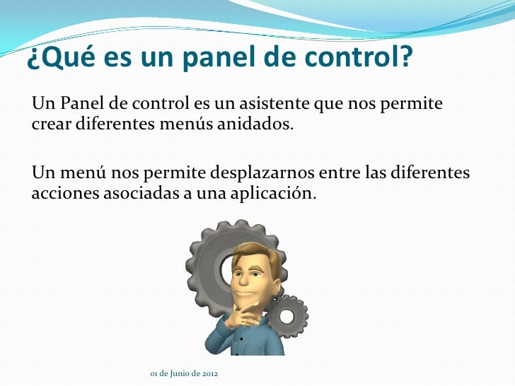 Como crear un panel de control - Www wayook es panel ...