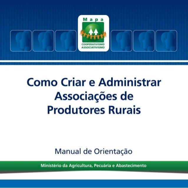 Ministério da Agricultura, Pecuária e Abastecimento Secretaria de Desenvolvimento Agropecuário e Cooperativismo Departamen...
