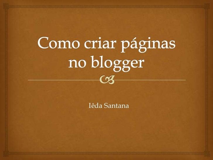 Iêda Santana
