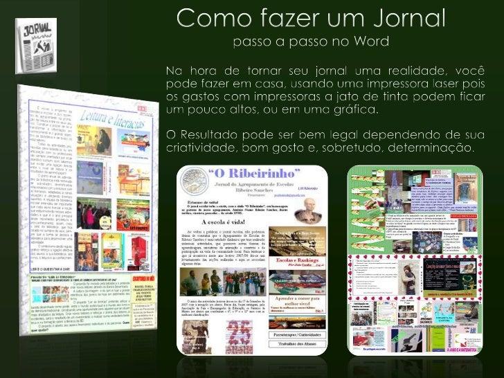 Como Criar um Jornal