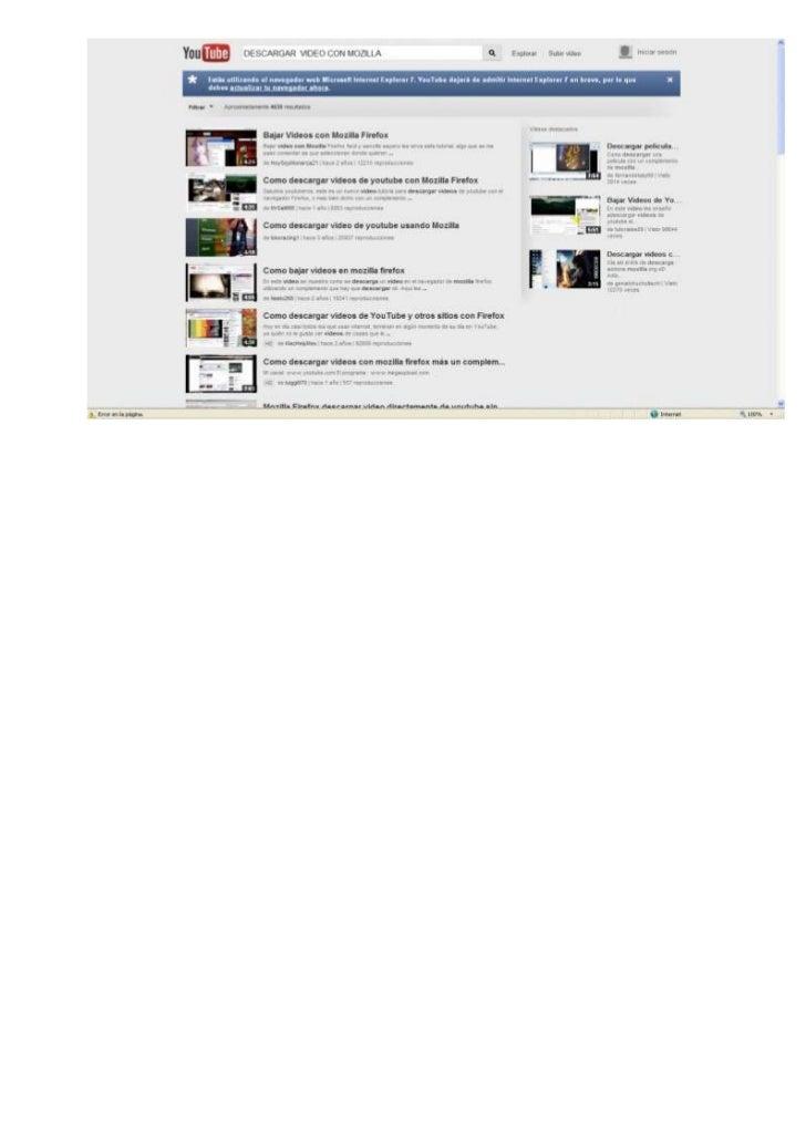 descargar videos de youtube con firefox gratis