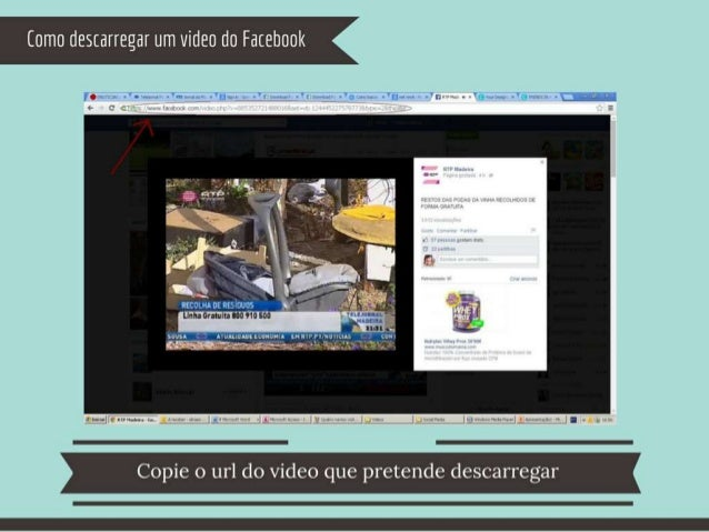 "Como destarregar um video do Fatebook     .  o _PCT J_ _ L- ¡ |  l l' -.   l X  U 4V);  '54 c] u_ * > 11"""" v .  u .  .  52..."