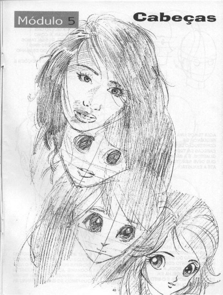 Como desenhar cabeças   curso de desenho