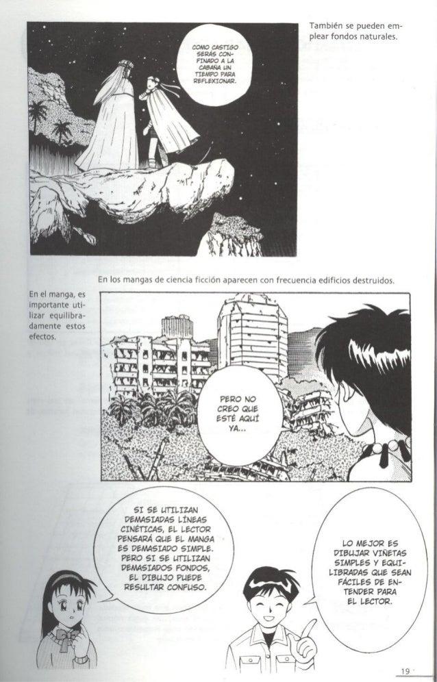 Como dibujar fondos de manga