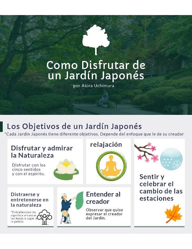 Como disfrutar de un jardin japones por akira uchimura