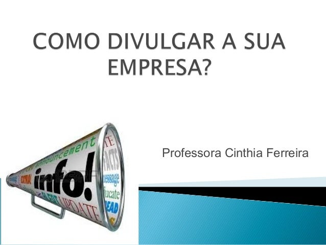 Professora Cinthia Ferreira