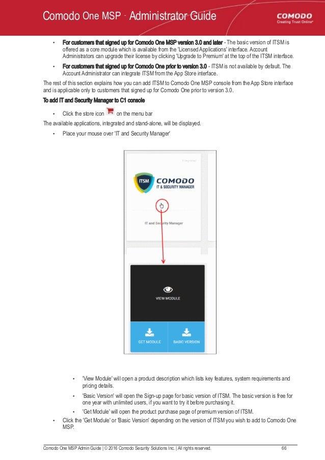 Comodo one | Patch Management Software