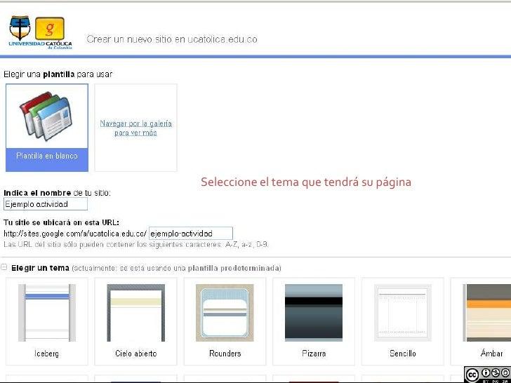 Cómo Crear Una Webquest En Googlesites