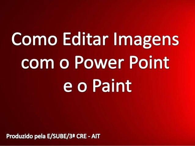 Como Editar Imagens no Powerpoint