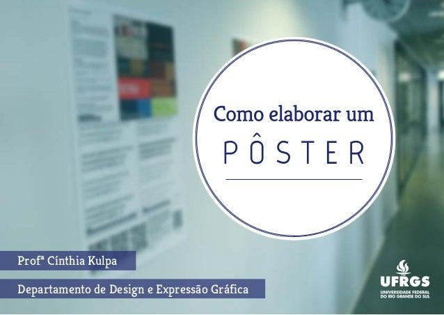 Departamento de Design e Expressão Gráfica Profª Cínthia Kulpa