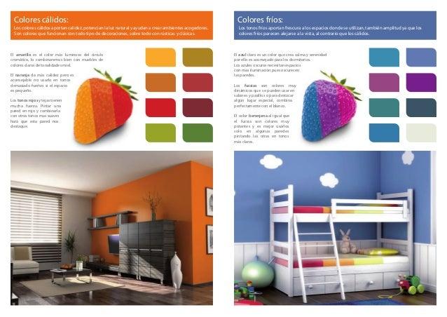 Como elegir y combinar los colores tiendas mont for Dormitorios colores calidos