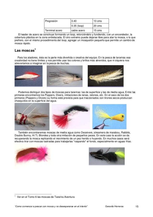 Como empezar a pescar con mosca 09 locales