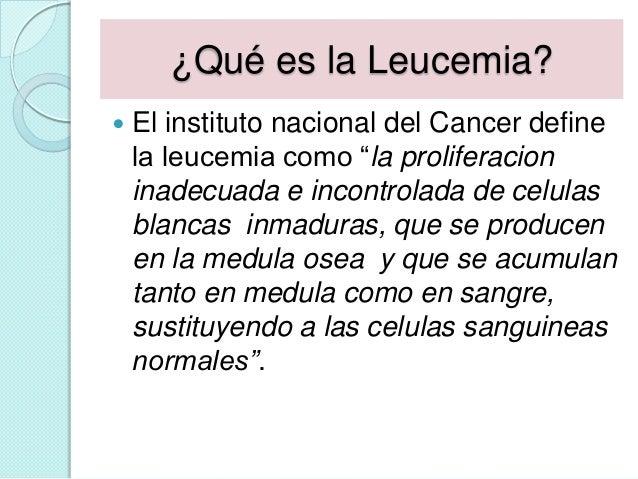 Como  enfrentarse a la leucemia y al Slide 2