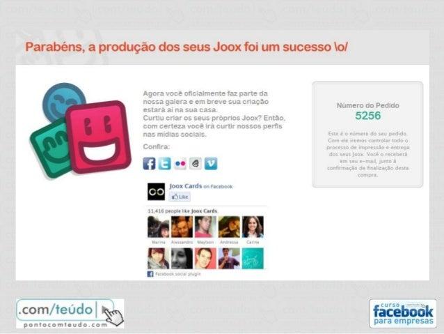 Mensurar o desempenho www.facebook.com/insights