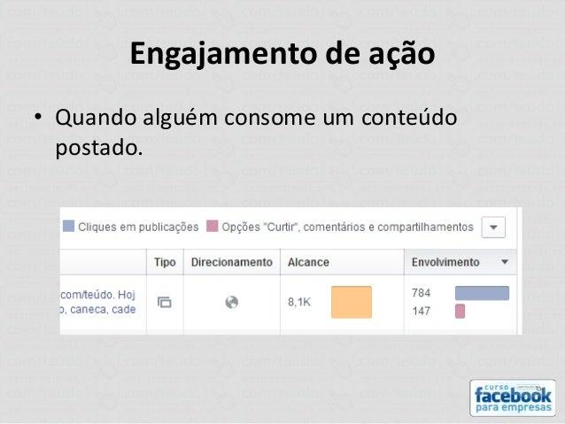 Como engajar e mensurar resultados no facebook