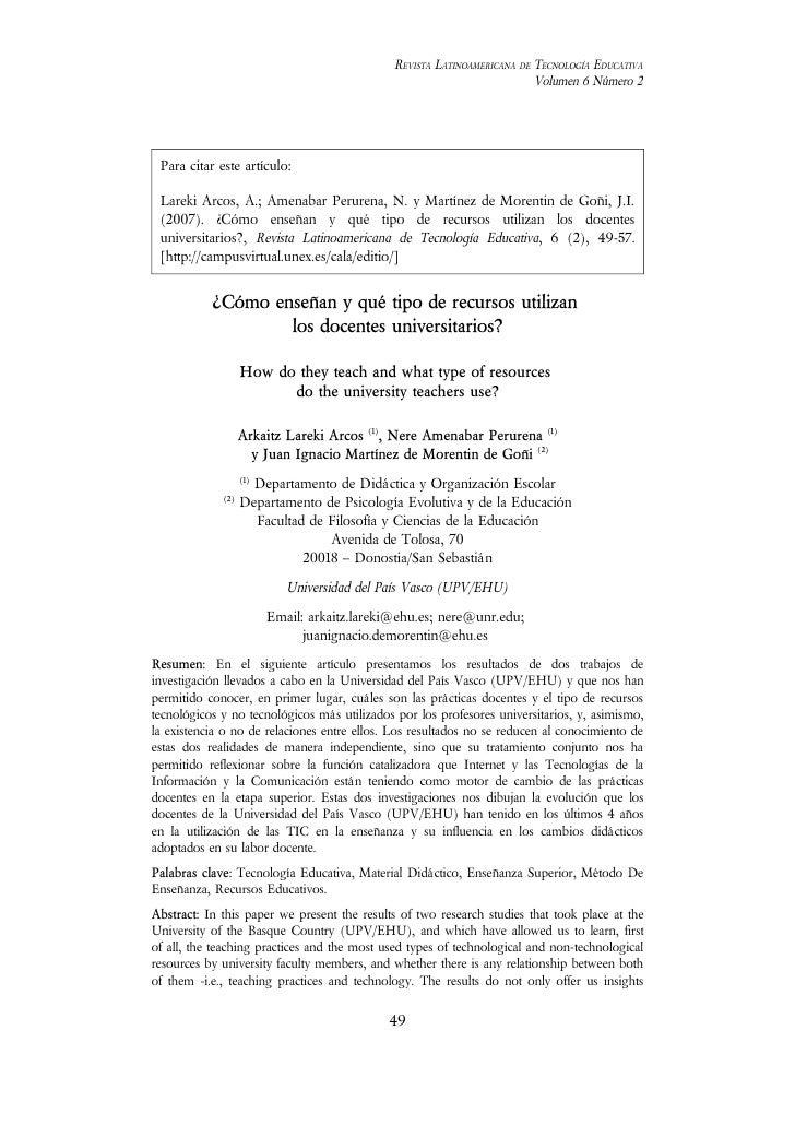 REVISTA LATINOAMERICANA DE TECNOLOGÍA EDUCATIVA                                                                          V...