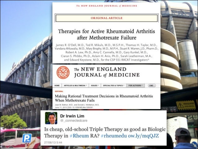 Tocilizumab as monotherapy or combination therapy for ...