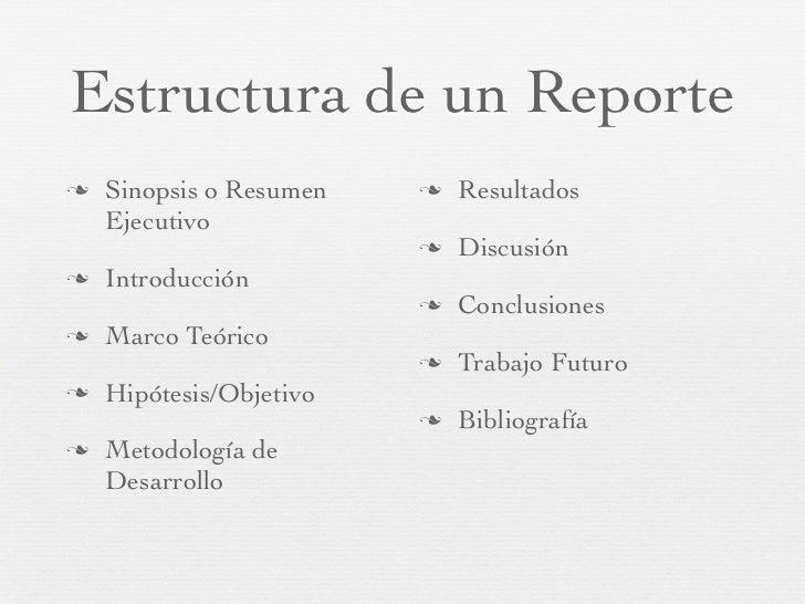 tips para escribir un reporte de investigaci u00f3n o dti