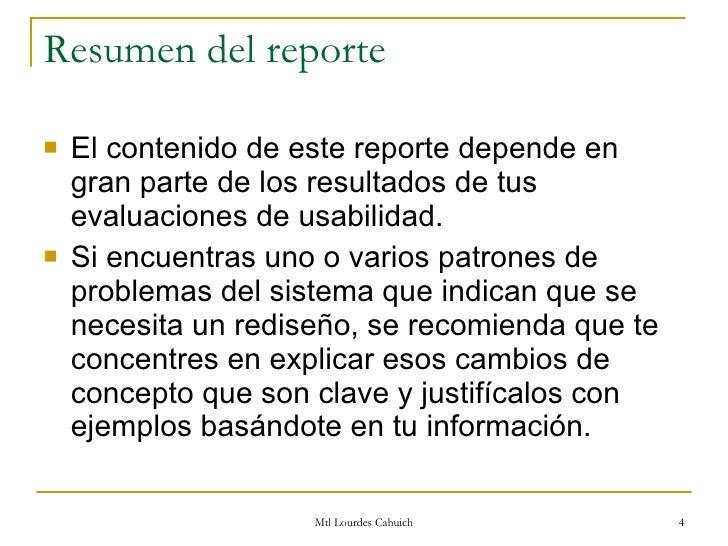 Como Escribir Un Resumen Del Reporte