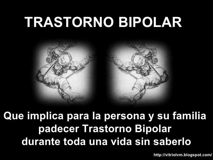 Quiere bipolar que decir ¿Por qué