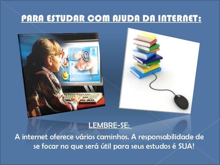 Ajuda para estudar