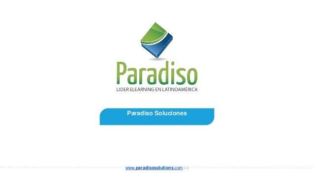 Paradiso Soluciones www.paradisosolutions.com.co
