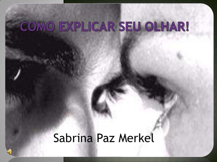 Sabrina Paz Merkel