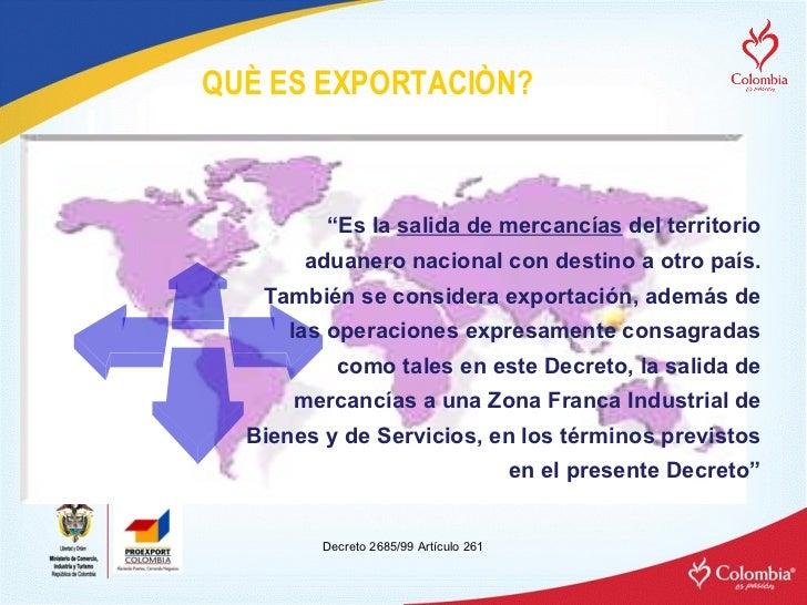 como exportar e importar