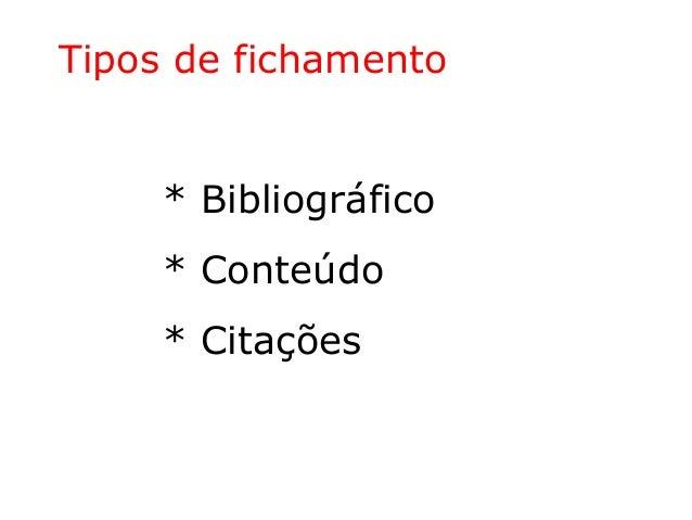 Como fazer fichamento de texto ou livro Slide 3