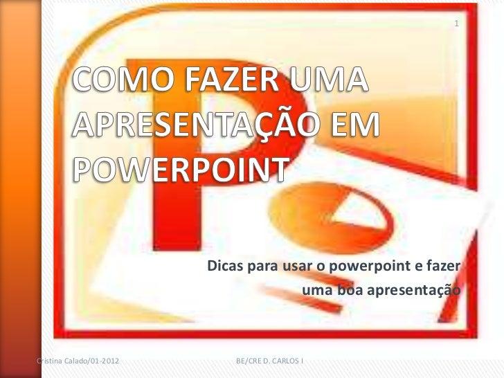 apresentacao powerpoint
