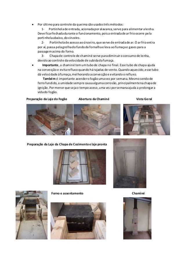 Como fazer um fogão a lenha Slide 3