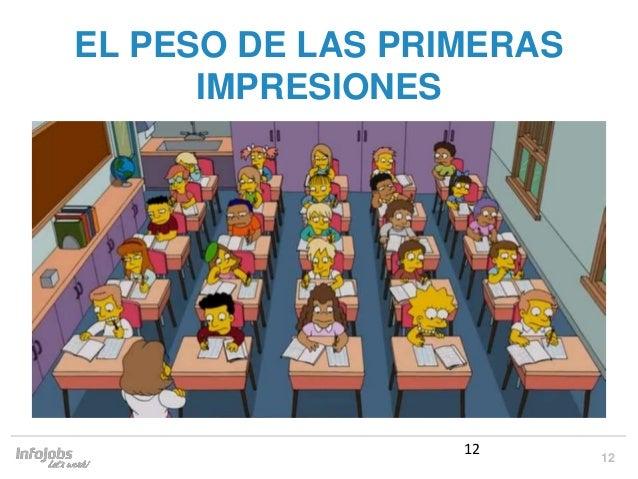 12 EL PESO DE LAS PRIMERAS IMPRESIONES 12