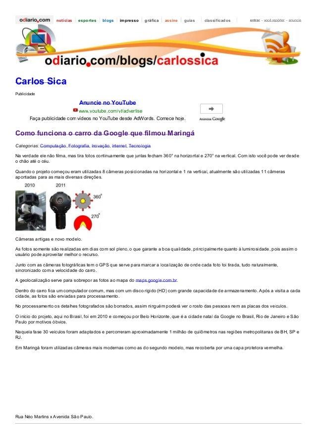 notícias  esportes  blogs  impresso  gráfica  assine  guias  classificados  entrar - você repórter - anuncie  Carlos Sica ...