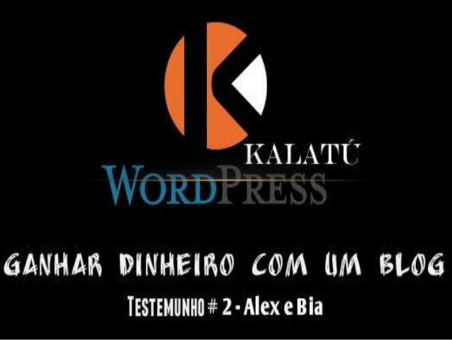 O Alex e a Bia viram na Empower Network e neste blog Kalatu a forma de poder voltar a sua terra natal, pois eles eram emig...
