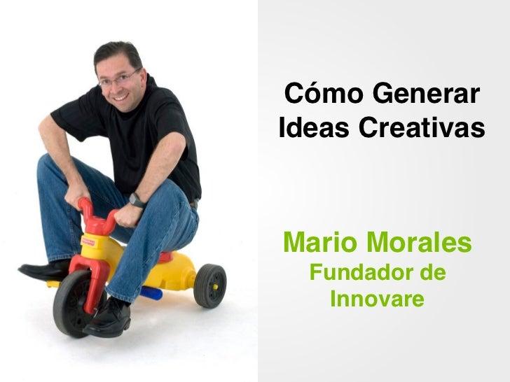 Cómo Generar Ideas Creativas Slide 2