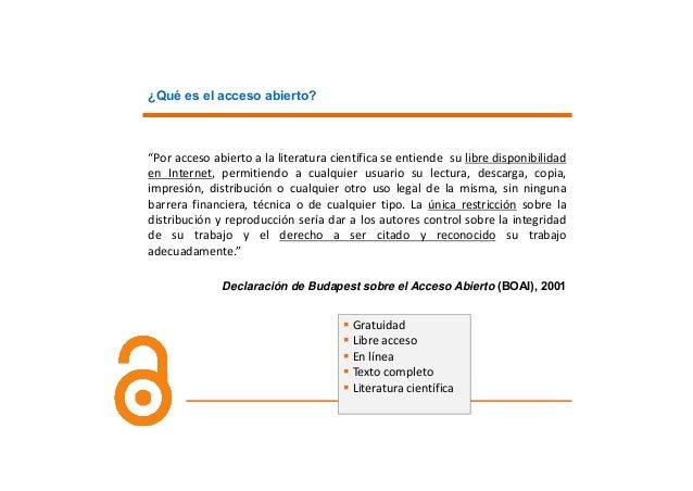 OAImpact El85%delosartículosmás citadosestánenAcceso Abierto Haymuchosestudios,tanto mayorescomomenores,...