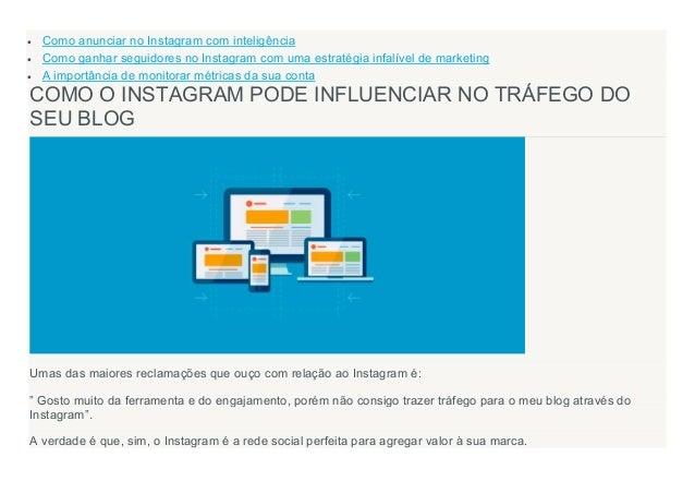  Como anunciar no Instagram com inteligência  Como ganhar seguidores no Instagram com uma estratégia infalível de market...