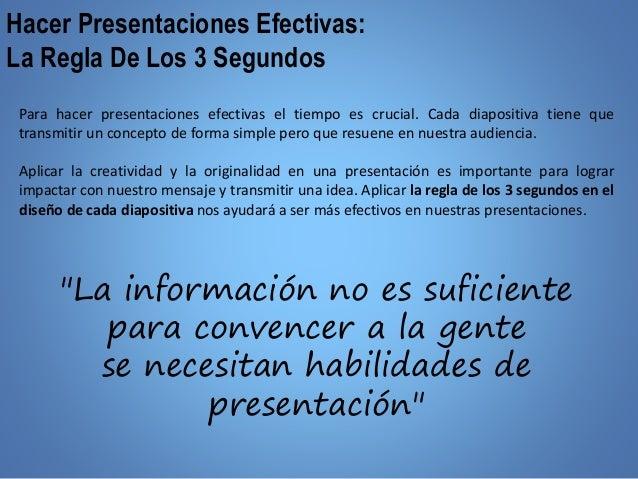 Como hacer presentaciones exitosas Slide 2