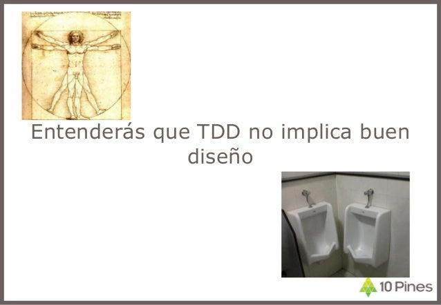 Entenderás que TDD no implica buen diseño