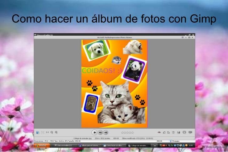 Como hacer un album de fotos con gimp - Como hacer un album de fotos ...